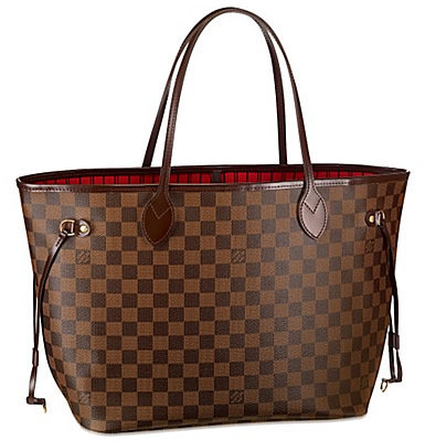 Louis Vuitton NEVERFULL GM Ebene сумка 151.  Аксессуары.  Каталог.